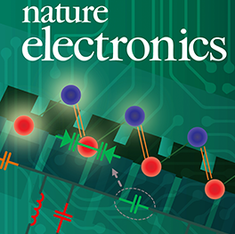 Cover art for Nature Electronics Journal.